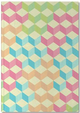 SugarCubes Geometric Pattern Anteckningsbok