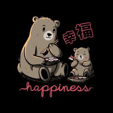 Happiness Sushi Acrylic Print