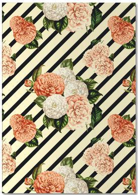 Chrysanthemum Rain Notepad