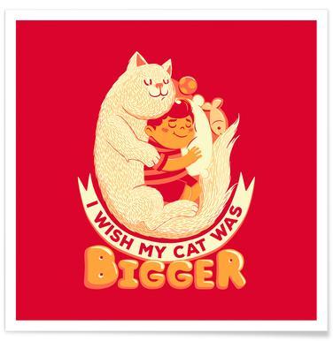 I Wish My Cat Was Bigger