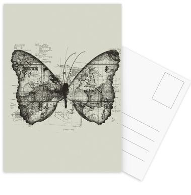Butterfly effect Postcard Set