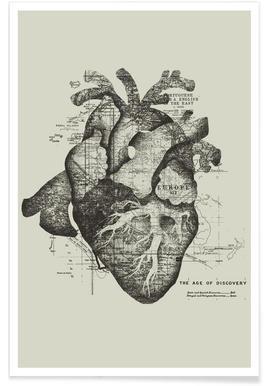 Restless heart -Poster