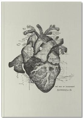 Restless heart carnet de notes