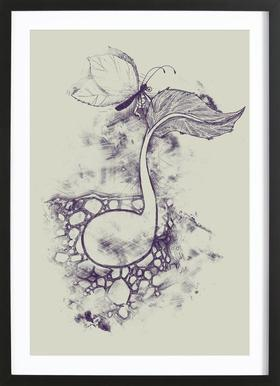 Touch of creation Framed Print