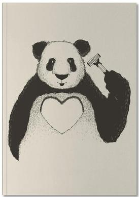 Panda Love Notebook