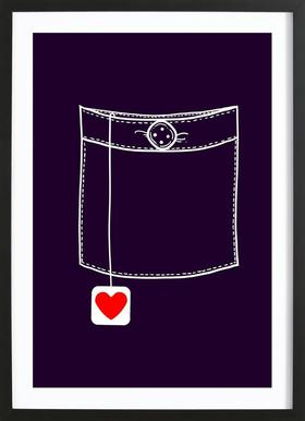 Pocket Full Of Love Framed Print