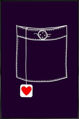 Pocket Full Of Love Framed Poster
