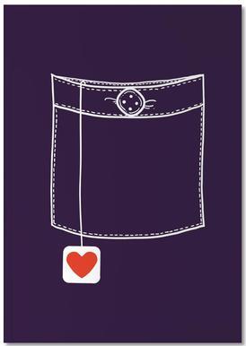 Pocket Full Of Love Notebook