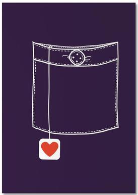 Pocket Full Of Love Notepad