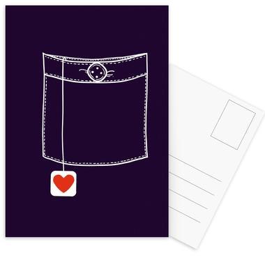 Pocket Full Of Love Postcard Set