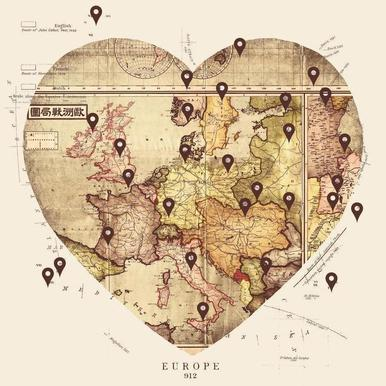 Love To Travel Canvas Print