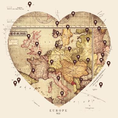 Love To Travel Acrylic Print