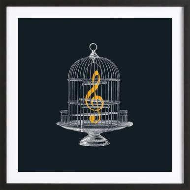 Set Me Free Framed Print