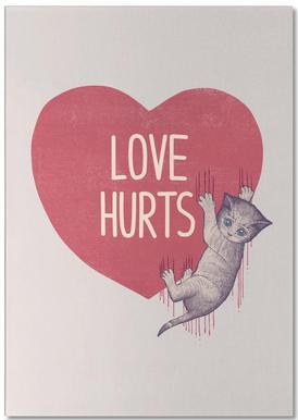 Love Hurts bloc-notes