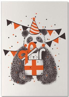 Happy Birthday -Notizblock