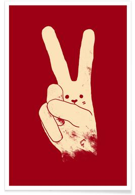 Love, Peace and Carrots -Poster