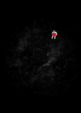 Love Space -Leinwandbild