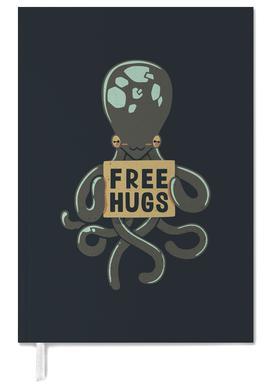 Free Hugs Octopus Personal Planner