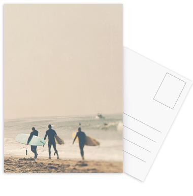 In 3s Postcard Set