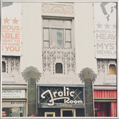 Frolic Room No.2 -Poster im Alurahmen