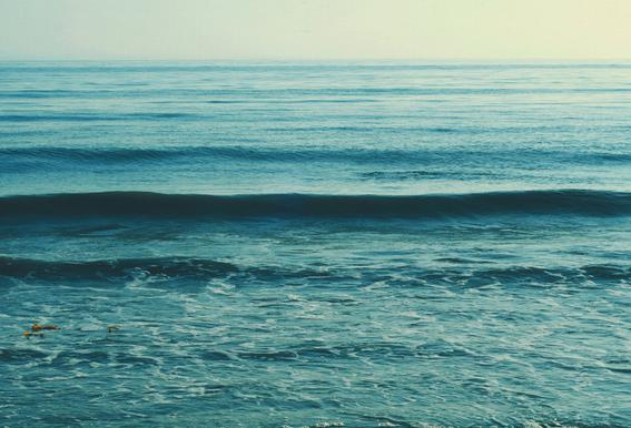 Somewhere -Acrylglasbild