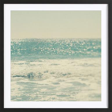 Swim -Bild mit Holzrahmen