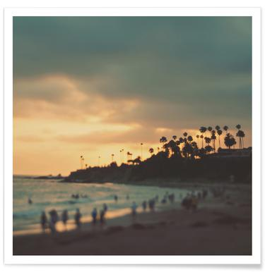 Laguna Beach Sunset No.1 Poster