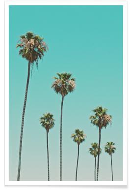 Las Palmeras - Premium Poster