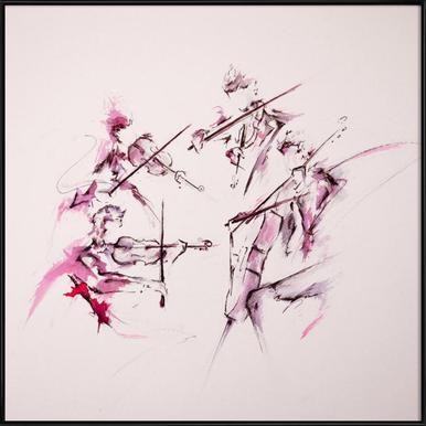 Quartet Framed Poster