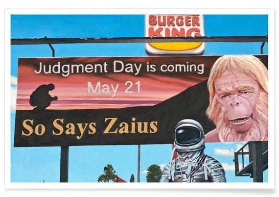 So Says Zaius -Poster