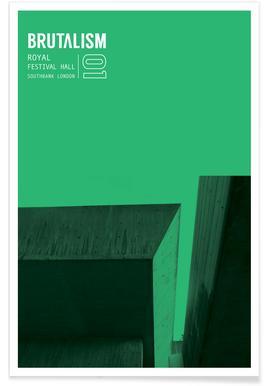 Brutalism -Poster
