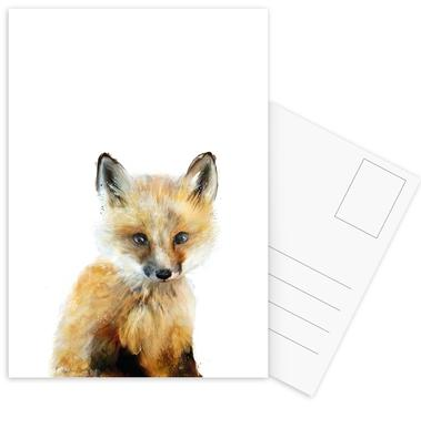 Little Fox cartes postales