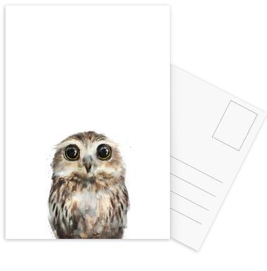 Little Owl -Postkartenset