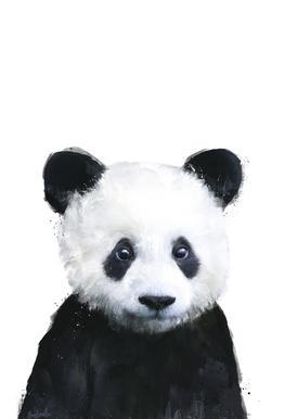 Little Panda acrylglas print