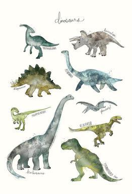 Dinosaurs -Alubild