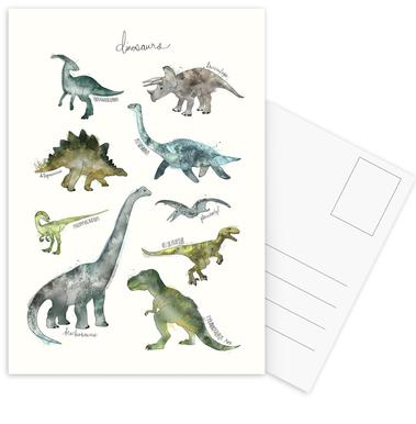Dinosaurs cartes postales