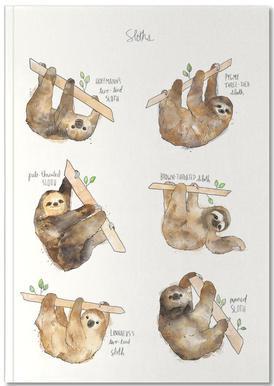 Sloths Notebook