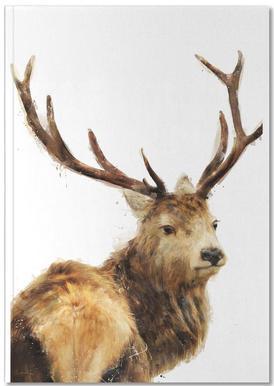 Winter Red Deer