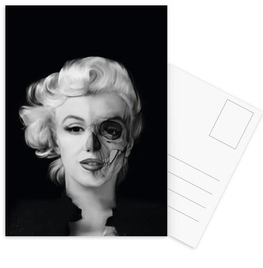 Dead Celebrities Postcard Set