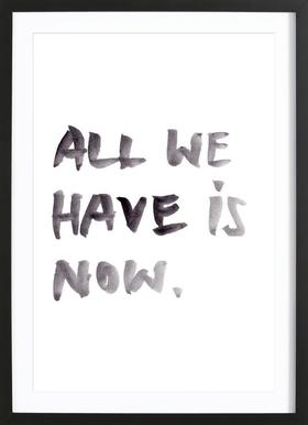 All we have ingelijste print