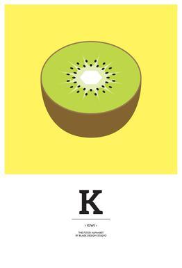 """The Food Alphabet"" - K like Kiwi"