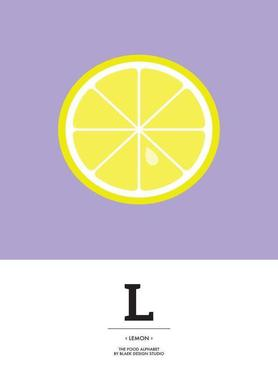 """The Food Alphabet"" - L like Lemon"