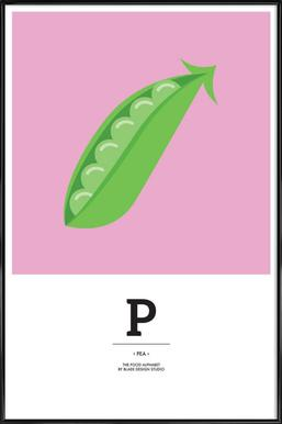 """The Food Alphabet"" - P like Pea"