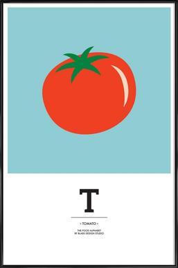 """The Food Alphabet"" - T like Tomato"