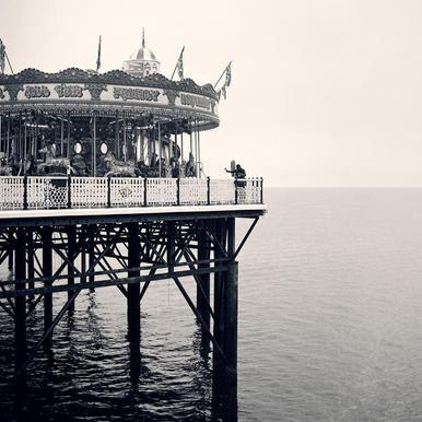 Brighton Pier canvas doek