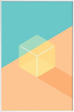Jelly - Poster im Kunststoffrahmen