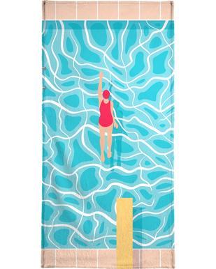 Pool serviette de plage