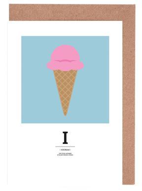 """The Food Alphabet"" - I like Ice Cream"