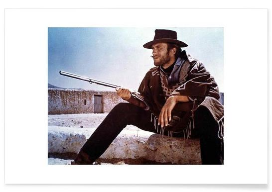 Clint Eastwood Vintage Photograph Poster