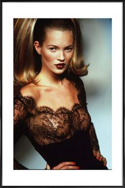 Kate Moss Framed Poster